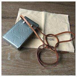 Louis Vuitton-Small original LV Lexington Pochette with a belt-Light blue
