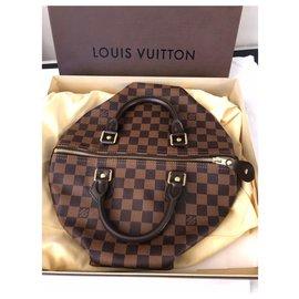Louis Vuitton-Speedy 30 Damier ebony-Brown