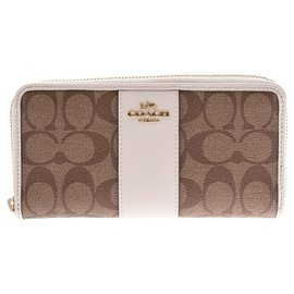 Coach-Coach Signature outlet-Beige