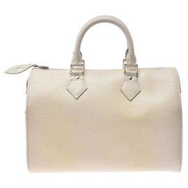 Louis Vuitton-Louis Vuitton Speedy-White