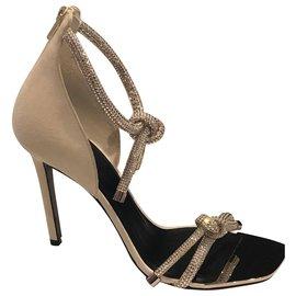 Versace-Heels-Beige