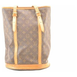 Louis Vuitton-Louis Vuitton Monogram Bucket GM-Brown