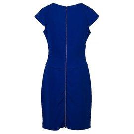 Diane Von Furstenberg-Royal blue dress-Blue