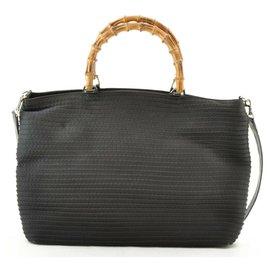 Gucci-gucci 2way Hand Bag-Black