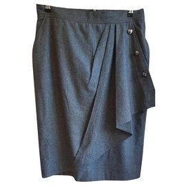Max Mara-Skirts-Grey