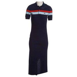 Lacoste-Dresses-Navy blue