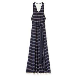 Lacoste-Dresses-White,Navy blue