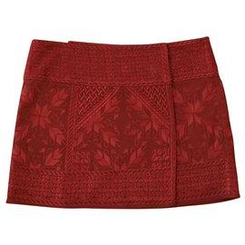 Isabel Marant-Skirts-Dark red