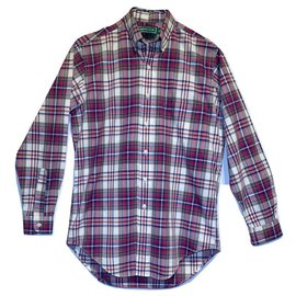 Aspesi-Botton down tartan shirt-Multiple colors