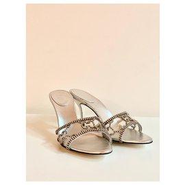 Gucci-Heels-Silvery