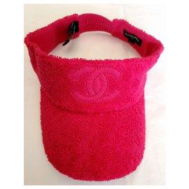 Chanel-Chanel S cap / visor-Pink,Fuschia