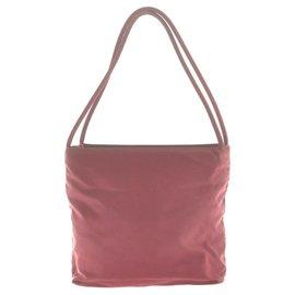 Prada-Prada Vintage Shoulder Bag-Red