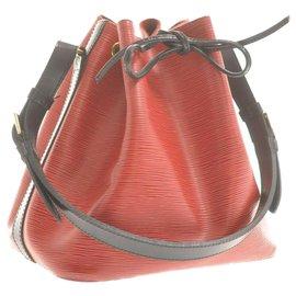 Louis Vuitton-Louis Vuitton Epi Noe Bicolo-Red