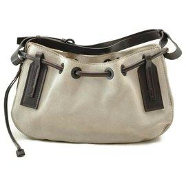 Gucci-Gucci Vintage Shoulder Bag-Grey