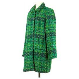 Desigual-Coat-Dark green