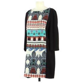 Tara Jarmon-robe-Black