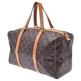 Louis Vuitton-Louis Vuitton Monogram Souple 35-Brown