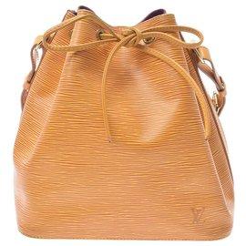 Louis Vuitton-Louis Vuitton Epi Petit Noe-Yellow