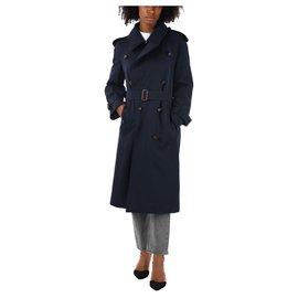 Burberry-Burberry coat new-Blue