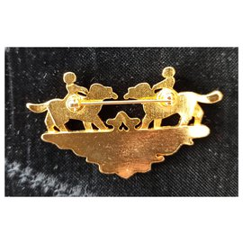 Hermès-Pins & brooches-Golden