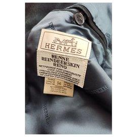 Hermès-Blazers Jackets-Black