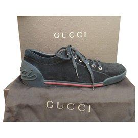 Gucci-basket Gucci p 39 1/2-Noir
