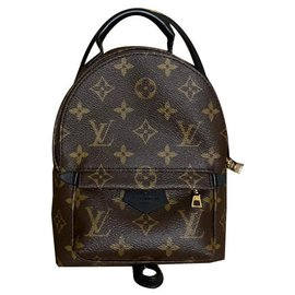 Louis Vuitton-Backpacks-Brown