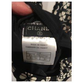 Chanel-Maillots de bain-Noir,Blanc