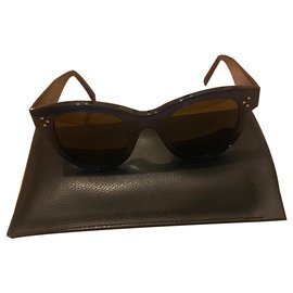 Céline-Sunglasses-Dark blue