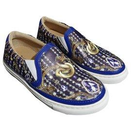 Just Cavalli-sneakers-Bleu,Multicolore