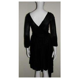 Halston Heritage-Black dress-Black