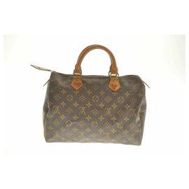 Louis Vuitton-Louis Vuitton Monogram Speedy 30-Marron