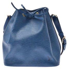Louis Vuitton-Louis Vuitton Epi Petit Noé-Bleu