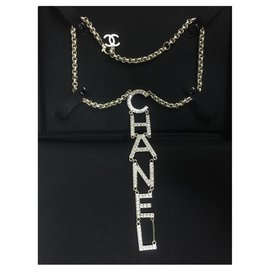 Chanel-chanel necklace new jewel-Golden