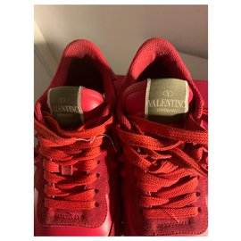 Valentino Garavani-sneakers-Rouge