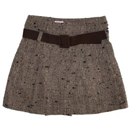 Max & Co-Skirts-Brown