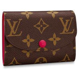 Louis Vuitton-Louis Vuitton Rosalie wallet-Brown