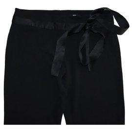 Hugo Boss-Pants, leggings-Black