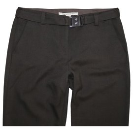 Diane Von Furstenberg-Pants, leggings-Brown