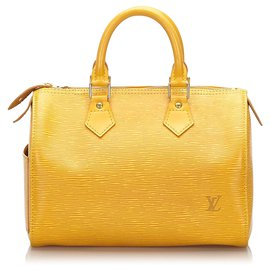 Louis Vuitton-Louis Vuitton Epi Jaune Rapide 25-Jaune