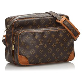 Louis Vuitton-Nil Louis Vuitton Brown Monogram-Marron