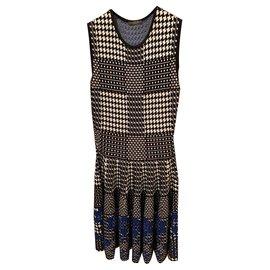 Alexander Mcqueen-Dresses-Blue