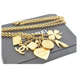 Chanel-Chanel Vintage CC Brooch-Golden