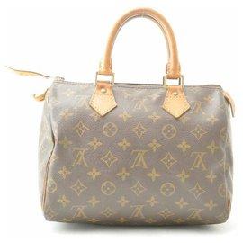 Louis Vuitton-Louis Vuitton Monogram Speedy 25-Marron