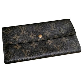 Louis Vuitton-Beautiful vintage vuitton wallet-Brown