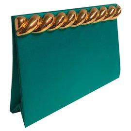 Yves Saint Laurent-Pochettes-Vert,Turquoise