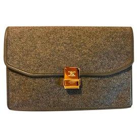 Céline-Clutch bags-Grey