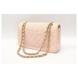 Chanel-Chanel Matelasse CC Tweed-Rose