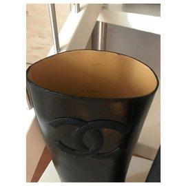 Chanel-Stivali Cavallerizza-Black