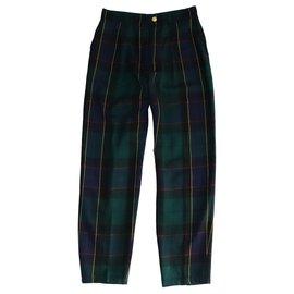 Escada-Un pantalon, leggings-Multicolore